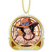 Key Chain - ONE PIECE / Ace
