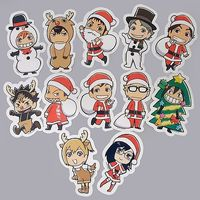 Stickers - Haikyuu!! / Karasuno High School