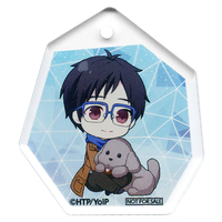 Key Chain - Yuri!!! on Ice / Makkachin & Yuuri