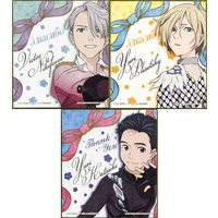 (Full Set) Illustration Panel - Yuri!!! on Ice / Yuri & Victor & Yuuri