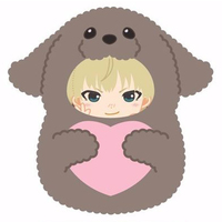 Badge - Yuri!!! on Ice / Makkachin & Yuri