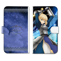 iPhone8 PLUS case - iPhone6 PLUS case - iPhone7 PLUS case - Smartphone Wallet Case for All Models - Fate/stay night / Saber