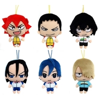 (Full Set) Plush Strap - Yowamushi Pedal