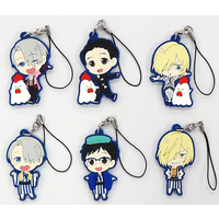 (Full Set) Rubber Strap - Yuri!!! on Ice / Yuri & Victor & Yuuri