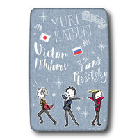 Card case - Yuri!!! on Ice / Yuri & Yuuri & Victor