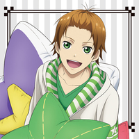 Cushion Cover - Star-Mu (High School Star Musical) / Hoshitani Yuta (Star-Mu)