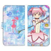 Smartphone Wallet Case for All Models - iPhone7 PLUS case - iPhone6 PLUS case - iPhone8 PLUS case - MadoMagi / Madoka Kaname