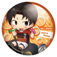 Badge - All Out!! / Kamo Raita