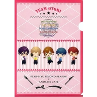 Plastic Folder - Star-Mu (High School Star Musical) / Hachiya So & Ageha Riku & Team Otori