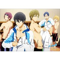 Desk Mat - Free! (Iwatobi Swim Club)