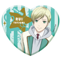 Acrylic Badge - Star-Mu (High School Star Musical) / Team Hiragi & Tatsumi Rui