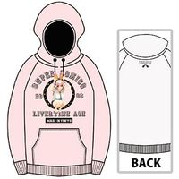 Hoodie - Super Sonico Size-M