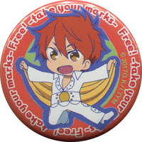 Badge - Free! (Iwatobi Swim Club) / Mikoshiba Momotaro