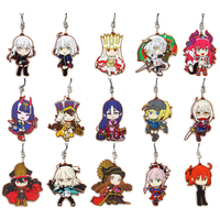 (Full Set) Rubber Strap - Kyun-Chara Illustrations - Fate/Zero