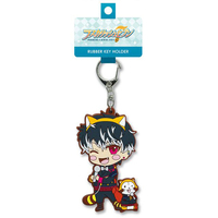 Rubber Key Chain - Araiguma Rascal / Momo (IDOLiSH7)