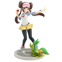 Illustration Panel - Pokémon / Hilda (Touko) & Snivy & Tepig