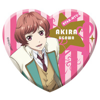 Acrylic Badge - Star-Mu (High School Star Musical) / Team Hiragi & Ugawa Akira