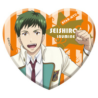Acrylic Badge - Star-Mu (High School Star Musical) / Team Hiragi & Inumine Seishiro