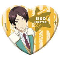Acrylic Badge - Star-Mu (High School Star Musical) / Team Hiragi & Sawatari Eigo