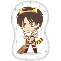 Die-cut Cushion - Shingeki no Kyojin / Eren Jaeger