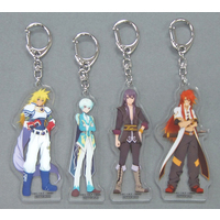 Acrylic Key Chain - Tales of the Abyss / Yuri & Luke & Stan Aileron & Mikleo