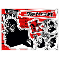Acrylic stand - White Board - Memo Stand - Persona5 / Protagonist