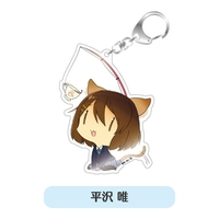 Acrylic Key Chain - K-ON! / Yui Hirasawa