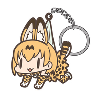 Tsumamare Key Chain - Kemono Friends / Serval