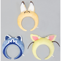 (Full Set) Headband - Kemono Friends / Fennec & Serval