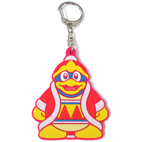 Rubber Key Chain - Kirby's Dream Land / King Dedede