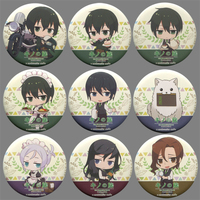 (Full Set) Trading Badge - Kino no Tabi (Kino's Journey) / Hermes & Shizu (Kino's Journey)