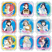 (Full Set) Acrylic Badge - Love Live! Sunshine!!