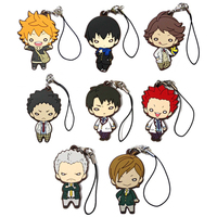 (Full Set) Rubber Mascot - Haikyuu!!