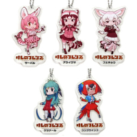 (Full Set) Acrylic Key Chain - Kemono Friends / Fennec & Serval