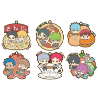 (Full Set) Rubber Key Chain - Kuroko's Basketball