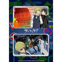 Card Stickers - Durarara!! / Izaya & Shizuo