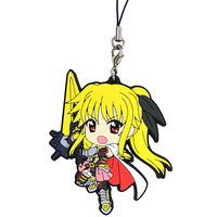 Rubber Strap - Kyun-Chara Illustrations - Magical Girl Lyrical Nanoha / Fate Testarossa