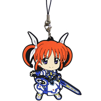 Rubber Strap - Kyun-Chara Illustrations - Magical Girl Lyrical Nanoha / Takamachi Nanoha