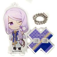 Stand Key Chain - DAME×PRINCE / Chrom