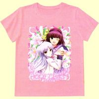 T-shirts - Angel Beats! / Kanade & Yuri