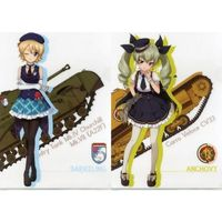 Plastic Folder - GIRLS-und-PANZER / Anchovy & Darjeeling