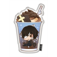 Charappuccino - Die-cut Cushion - Bungou Stray Dogs / Dazai Osamu