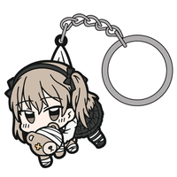 Tsumamare Key Chain - GIRLS-und-PANZER / Shimada Arisu