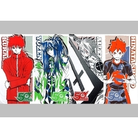 (Full Set) Bath Towel - Haikyuu!! / Kurama & Allen Walker & Hinata & Youzen