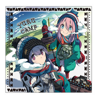 Cushion Cover - Yuru Camp / Shima Rin & Kagamihara Nadeshiko