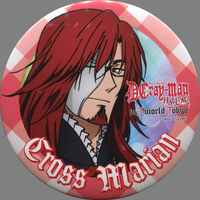 Trading Badge - D.Gray-man / Cross Marian