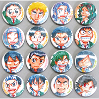 (Full Set) Trading Badge - Yowamushi Pedal