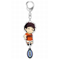 Acrylic Key Chain - All Out!! / Hachiouji Mutsumi