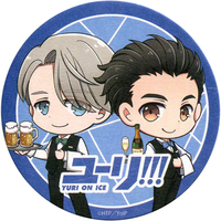 Coaster - Yuri!!! on Ice / Yuuri & Victor