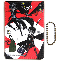 Commuter pass case - Persona5 / Protagonist